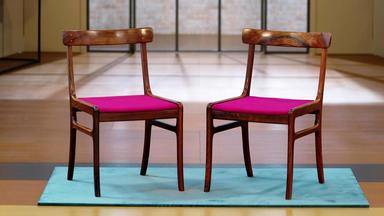 Die Superhändler - 4 Räume, 1 Deal - Ole Wanscher Stühle \/ Trophäe Streichholzhalter Sterlingsilber