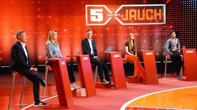 5 Gegen Jauch - Gäste: Elena Uhlig, Joachim Llambi, Luca Hänni, Barbara Meier Und Ingo Zamperoni