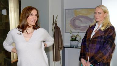 Gzsz - Kaum Zurück Im Kiez, Wird Katrin Mit Melanies Gegenwart Konfrontiert