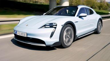 Auto Mobil - Thema U.a.: Der Porsche Taycan Cross Turismo