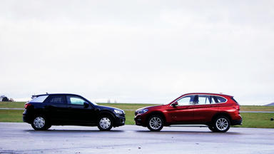 Auto Mobil - Thema U.a.: Vergleichstest Audi Q2 Vs. Bmw X1