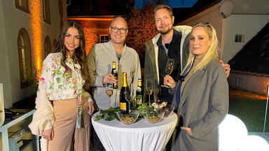 Das Wunschmenü Der Stars - Alle Unter Einem Dach - Folge 2: Bastian Bielendorfer, Ekaterina Leonova, Janine Kunze, Frank Buschmann