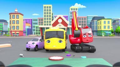 Go Buster - Zurück Zur Schule - Unfälle Passieren