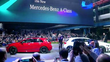 Auto Mobil - Thema U.a.: Weltpremiere Der Mercedes A-klasse