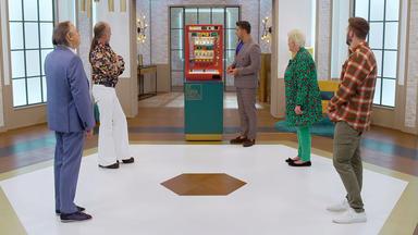 Die Superhändler - 4 Räume, 1 Deal - Menage Eierbecher \/ Hirschkäfer Rosenthal \/ Spieleautomat 70er \/ Mid Century Sonnenspiegel