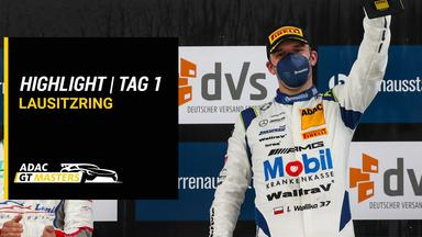 Raceday - Adac Gt Masters - Highlights - Lausitzring - Tag 1