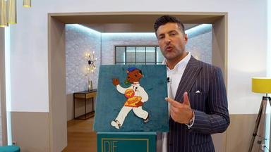 Die Superhändler - 4 Räume, 1 Deal - 50er Werbefigur Autol Desolite \/ 60er Sessel Lusch & Co. \/ Max Bill Sputnik Lampe Von Temde \/ Servie