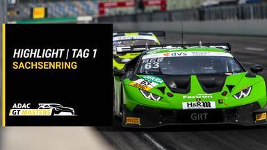 Raceday - Adac Gt Masters - Highlights - Sachsenring - Tag 1