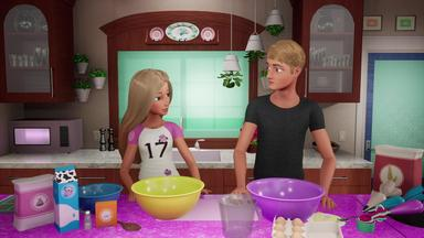 Barbies Videotagebuch - Barbie Und Kens Cupcake-backexperiment