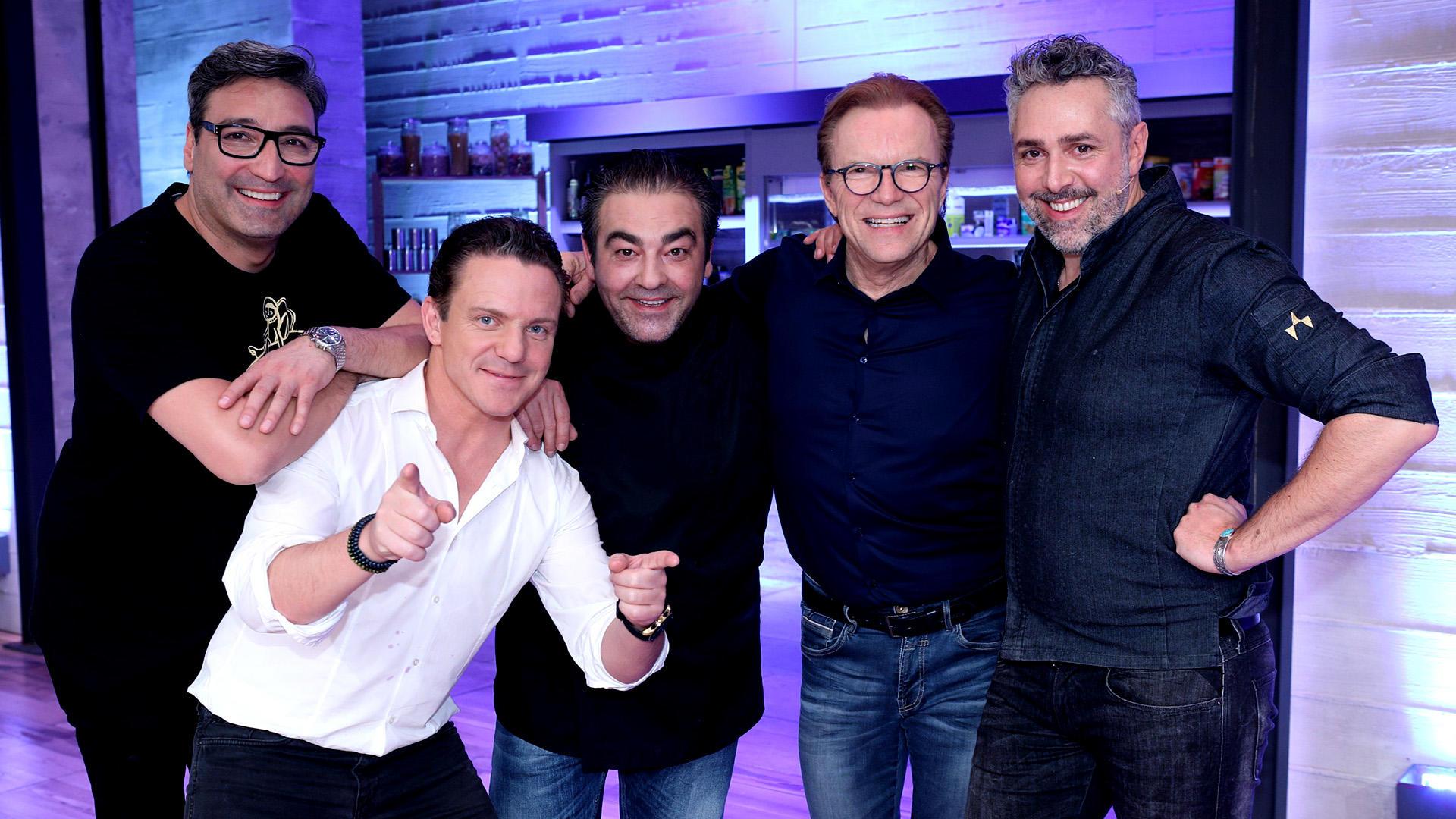 Mit Roland Trettl, Stefan Mross, Mousse T., Wolfgang Lippert | Folge 5