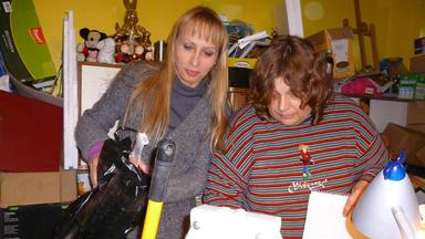 Das Messie-team - Wegwerfen Kann Manuela Nichts